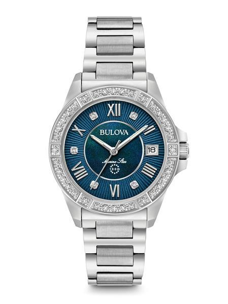 $550.00 Woman's Marine Star Diamond Watch