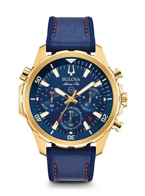 $450.00 Men's Marine Star Chronograph Watch