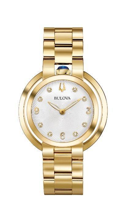 $487.50 RUBAIYAT Gold-tone Bracelet Watch