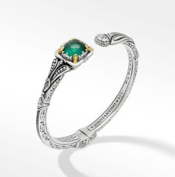 $720.00 Green Aventurine DBLT Bracelet
