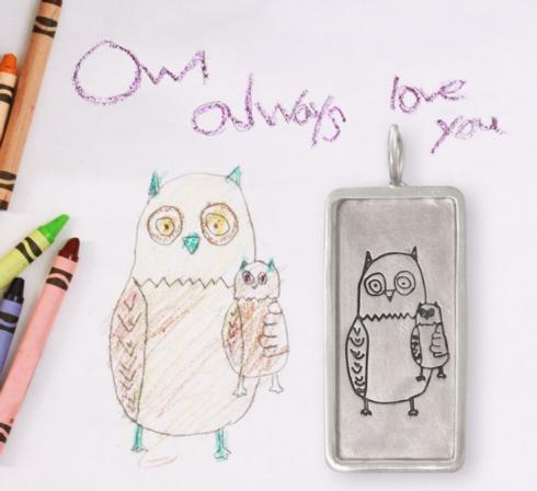 $555.00 Child\'s Drawing ID Tag
