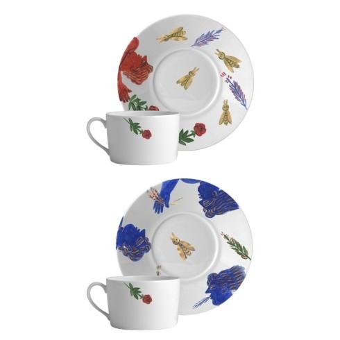 Breakfast Cup & Saucer Set of 2