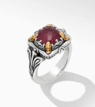 $495.00 Ruby DBLT Ring