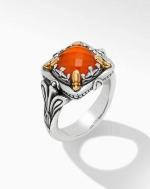 $495.00 Carnelian DBLT Ring