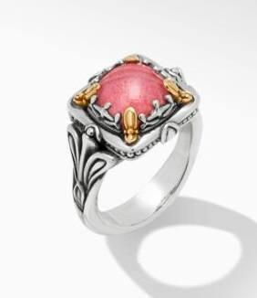 $495.00 Thulite DBLT Ring
