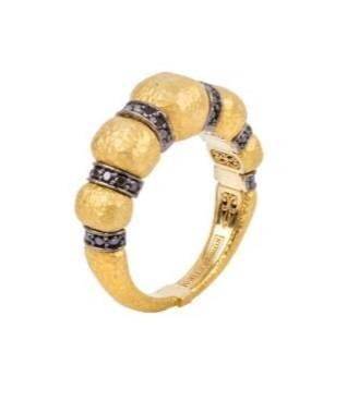 $1,990.00 Black Diamond Coronet Ring