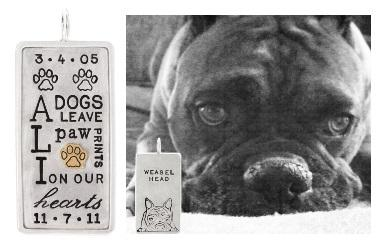 $1,255.00 Dog Portrait ID Tag