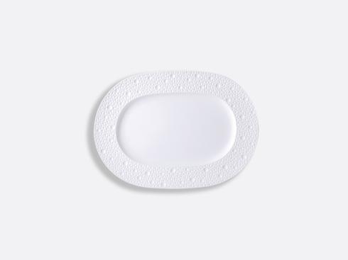 "Bernardaud ECUME White Oval Platter 12"" $216.00"