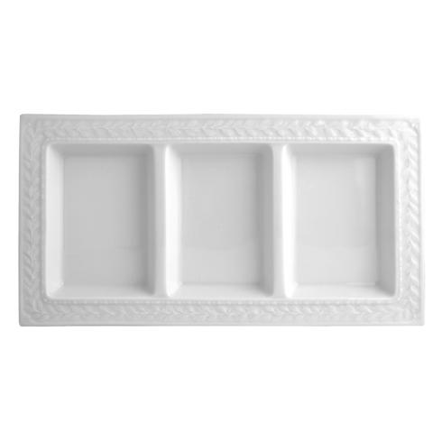 Bernardaud  Louvre Three-Compartment Tray $107.00