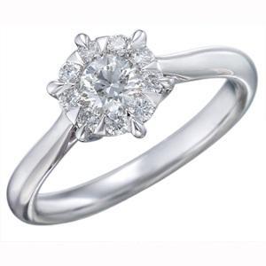 $0.00 Six Prong Diamond Ring