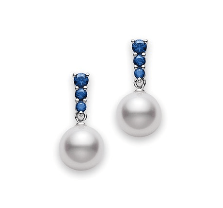 $1,800.00 Morning Dew Akoya Cultured Pearl Earrings