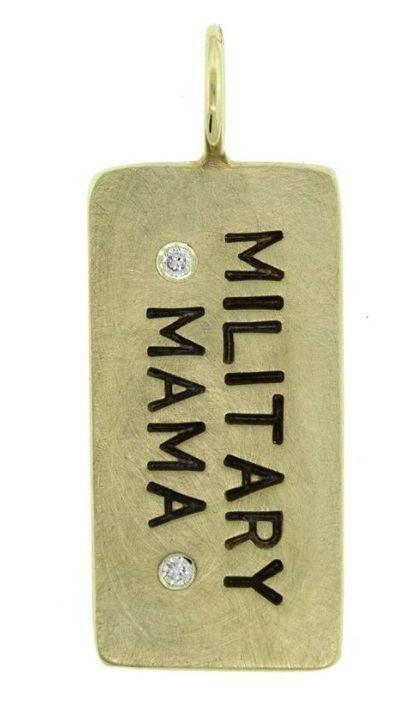 $846.00 Military Mama ID Tag