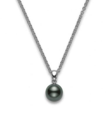 $1,387.50 Mikimoto Black South Sea Pearl 10-11mm