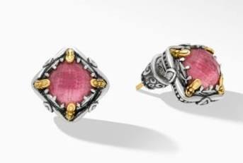 $595.00 Thulite DBLT Earrings