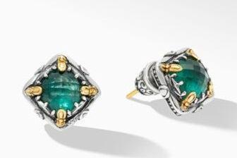 $595.00 Green Aventurine DBLT Earrings