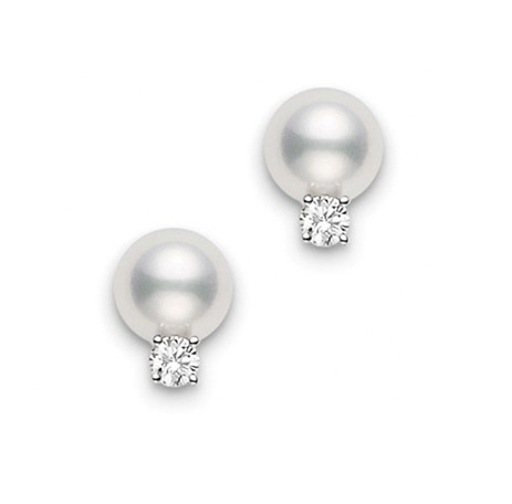 $637.50 Studs with Diamonds