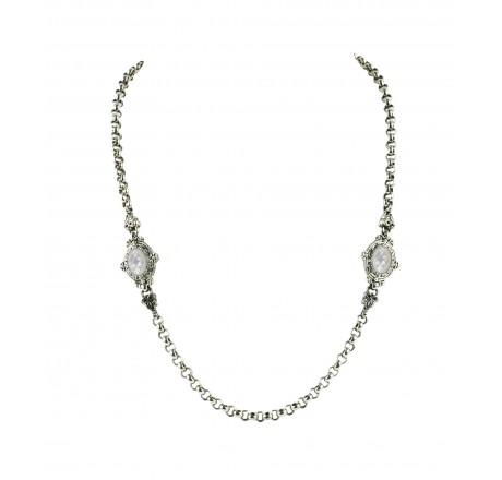 $640.00 Mother of Pearl Necklace 18 Inch