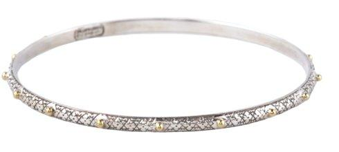Etched Dot Bangle
