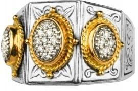 $1,540.00 Pave\' Diamond Ring