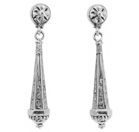 Sterling Drop Earrings