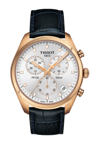 $360.00 Mens Tissot PR100 Strap Chronograph Watch