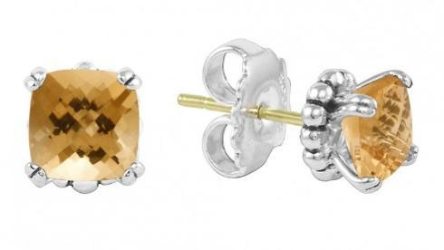 $236.00 GEMSTONE STUD EARRINGS