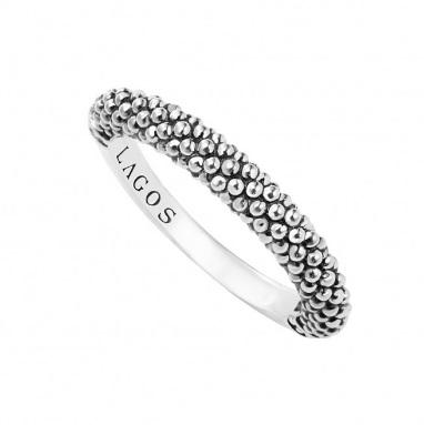 $160.00 CAVIAR STACKING RING