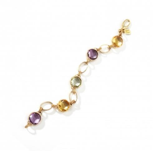 $3,000.00 Iride Bracelet with Diamonds and Gemstones