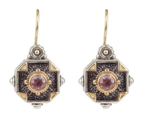 Sterling Silver & 18K Gold Earrings