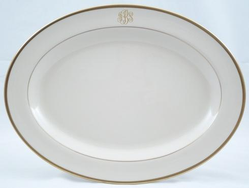 $262.00 Large Platter Monogrammed