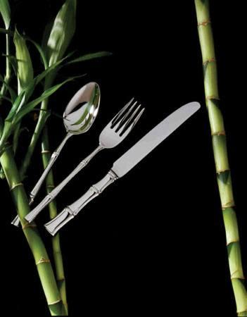 $70.00 Bamboo Stainless 5 Pc Pl Setting