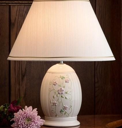 $125.00 CLASSIC IRISH FLAX LAMP & SHADE