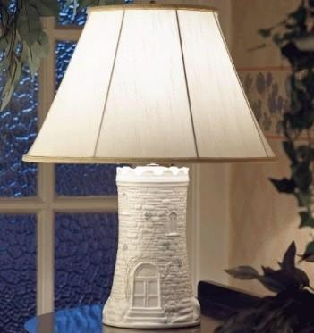 $100.00 CLASSIC CASTLE LAMP AND SHADE