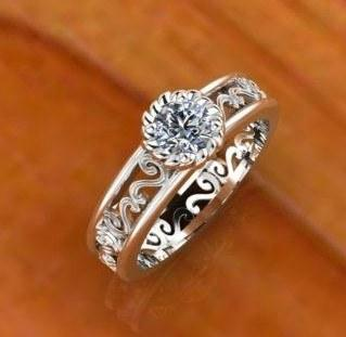 engagement ring collection with 1 products