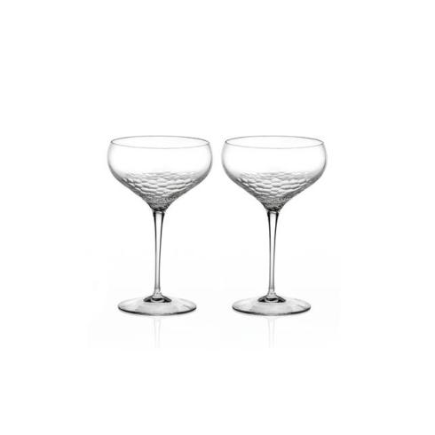 $100.00 SEQUIN Saucer Champagne Pair
