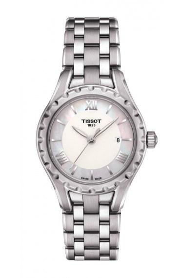 $212.50 Lady Small Quartz With White Mother of Pearl Dial With Stainless Steel Bracelet