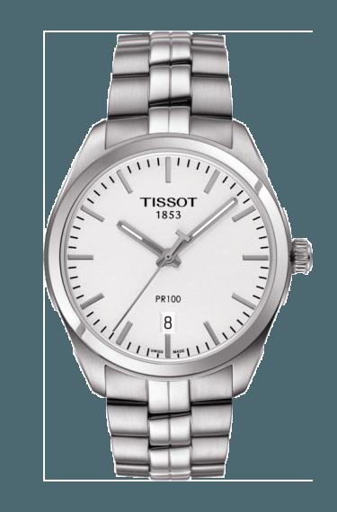 $260.00 Mens Tissot PR100 Bracelet Watch