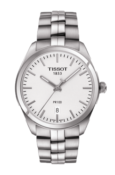 $260.00 Mens Tissot PR100 Bracelet Watch