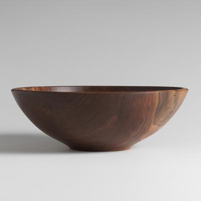 "Andrew Pearce   Champlain 17"" Salad Bowl Black Walnut $395.00"