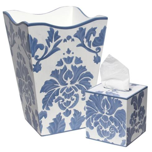 Allen G Blue Medallion Waste Basket collection with 1 products