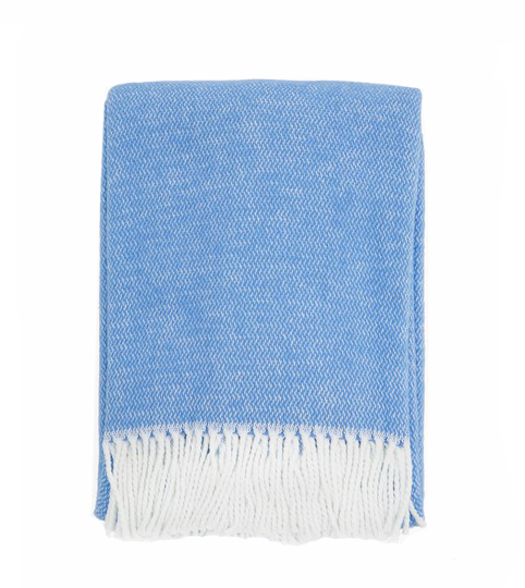 $75.00 Pezzo Navy Throw