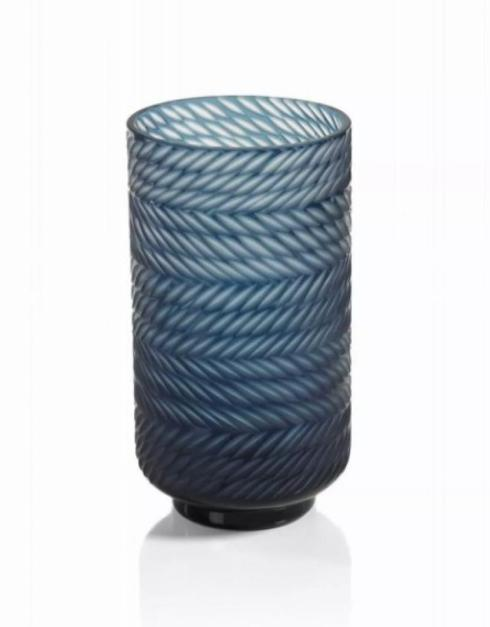 Zodax   Blue Bay Tall Glass Hurricane $90.00