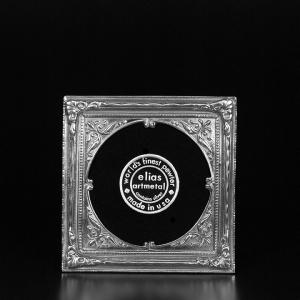 $75.00 Pewter American Circle - 3 1/2 x 3 5/8