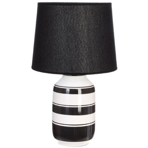 $85.00 BLACK AND WHITE LAMP