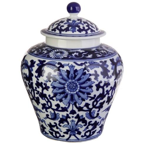 "$75.00 10"" jar with lid"