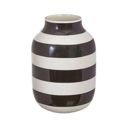 BLACK AND WHITE VASE 8'