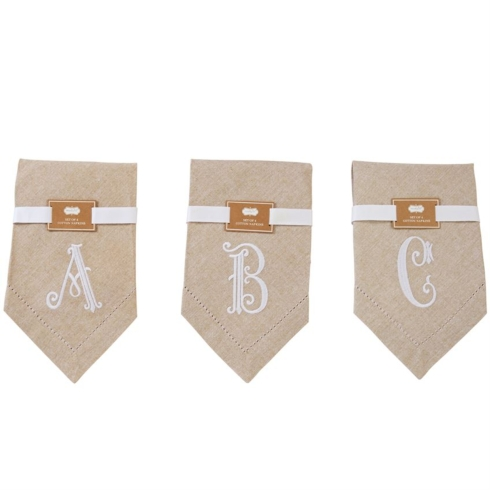 $20.00 INITIAL NAPKINS( initial A)