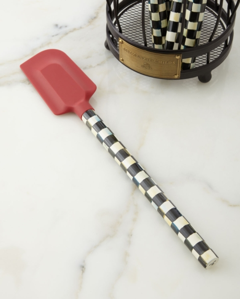 MacKenzie-Childs  Kitchen and Home COURTLY CHECK SPATULA - RED $30.00