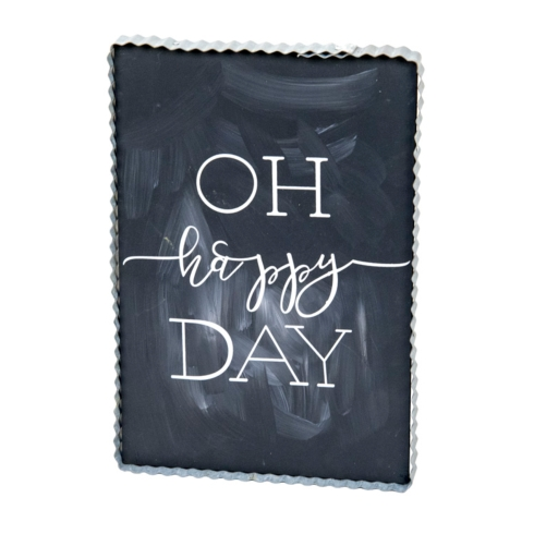 Oh Happy Day Word Sign collection with 1 products