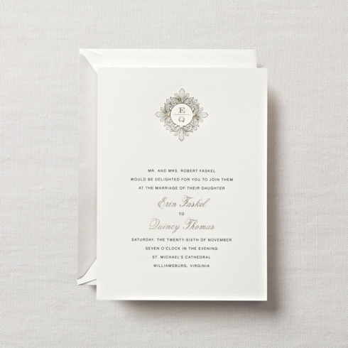 $23.96 Engraved Midnight At The Palazzo Invitation. From $3.85 | per card.  Call for price.
